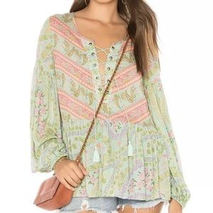 NWT Spell &the gypsy Collective city lights blouse